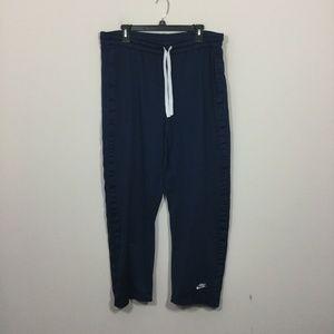 Nike Size L Blue Lined Workout Pants